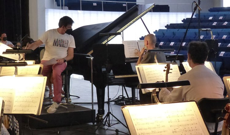 Grabamos con el pianista Pedro Piquero un nuevo disco con música de Arvo Pärt